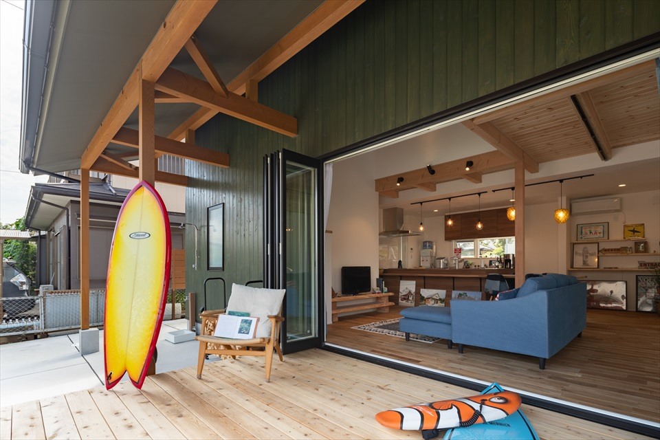 Surf life house